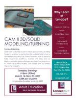 Mastercam at Lenape Adult Education | Tri County
