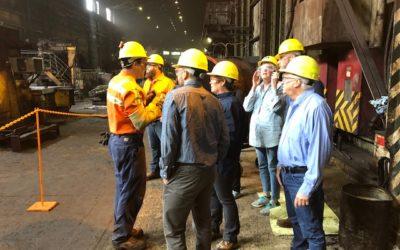 AK Steel Hosts BCMC August Meeting